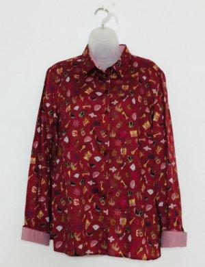 Erfo elegante Bluse Baumwolle Gr. 46 wie neu