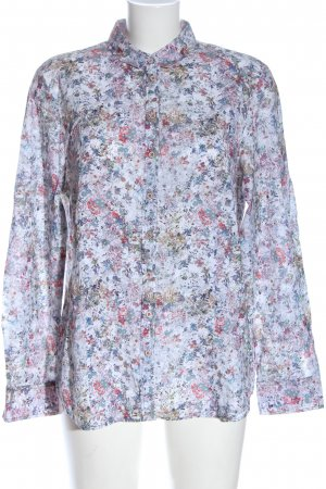 Erfo Hemd-Bluse Allover-Druck Casual-Look