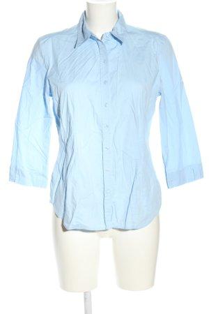 Erfo Kurzarmhemd blau Business-Look