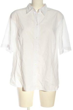 Erfo Shirt met korte mouwen wit zakelijke stijl