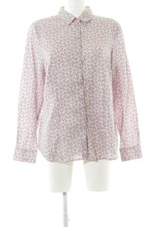 Erfo Camisa de manga larga rosa-gris claro look casual