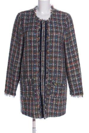 Erfo Cardigan check pattern elegant