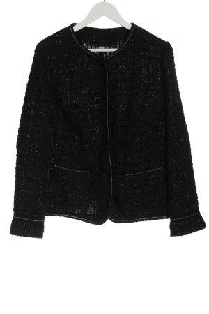 Erfo Blazer in tweed nero modello web stile casual