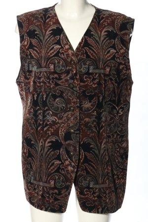 Erfo Omkeerbaar vest abstract patroon casual uitstraling