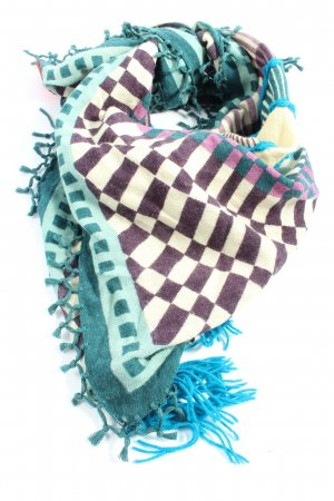 Erfurt Fringed Scarf allover print casual look