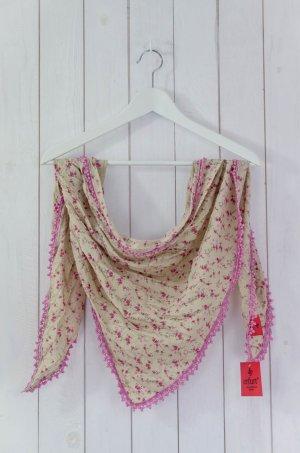 Erfurt Chal veraniego beige-rosa Algodón