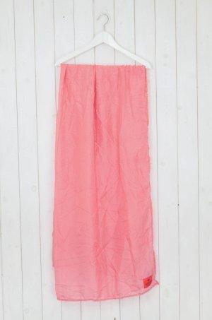 Erfurt Silk Scarf salmon-pink silk