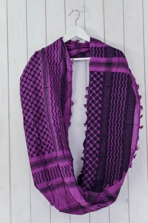 Erfurt Tube Scarf multicolored cotton