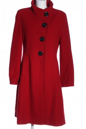Erich Fend Floor-Lenght Coat red business style