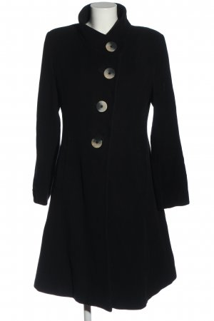 Erich Fend Winter Coat black casual look