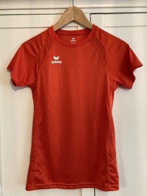 Erima Sport Shirt orange rot Laufen Gr. 34