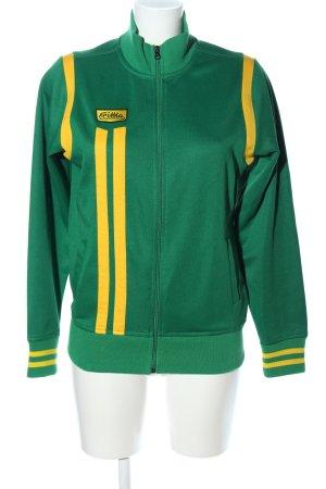Erima Sportjacke grün-blassgelb Casual-Look