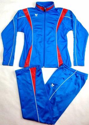 Erima Completo sportivo rosso-blu fiordaliso
