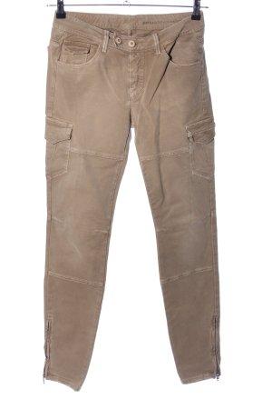 Ermanno Scervino Jeans da motociclista marrone stile casual