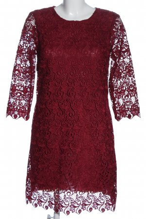 Ermanno Scervino Longsleeve Dress red casual look