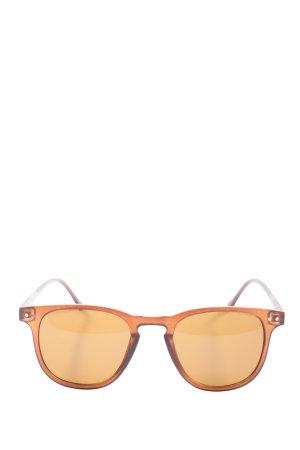 Ernstings Family Vierkante bril licht Oranje casual uitstraling