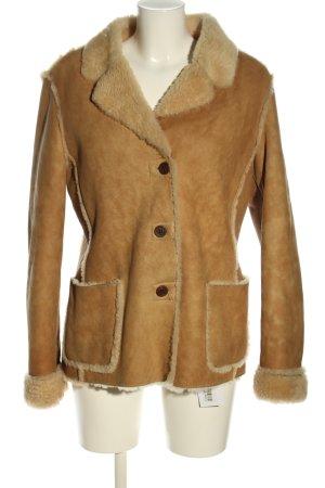 Erre Wool Jacket brown casual look