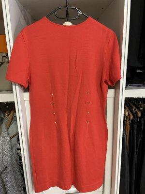Escada Midi Dress brick red