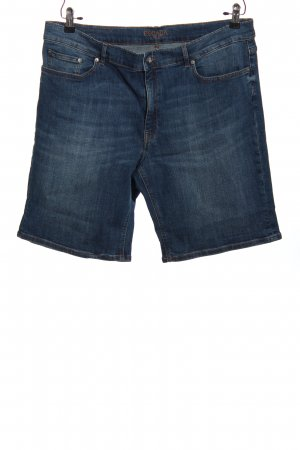 Escada Pantalone a 3/4 blu stile casual
