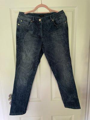 Escada Jeans a 7/8 blu Cotone