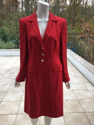 Escada Manteau court rouge