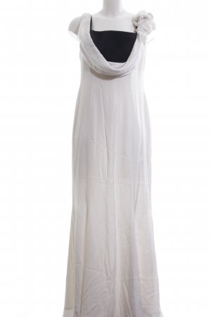 Escada Abendkleid weiß-schwarz Elegant