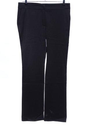 Escada Pantalone da abito nero stile casual