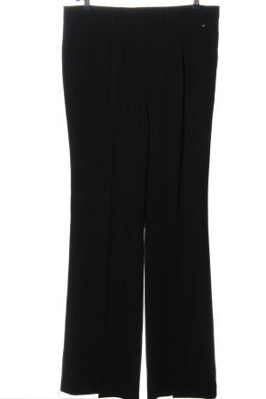 Escada Pantalon de costume noir style décontracté