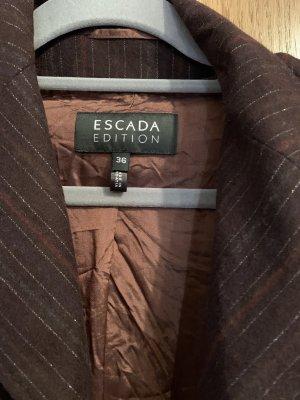Escada Blazer in lana multicolore