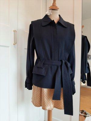 Escada Klassischer Blazer dark blue cotton