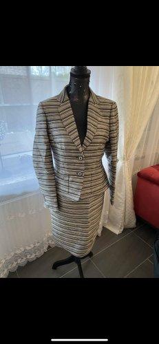 Escada Business Suit silver-colored-grey