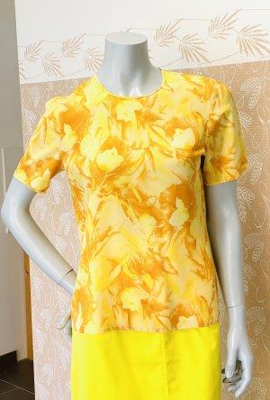 Escada Blusa a tunica giallo pallido-arancione chiaro Seta