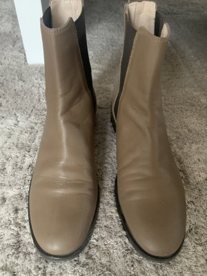 Escada Bottines à enfiler gris brun