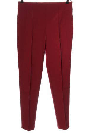 Escada Pleated Trousers red business style