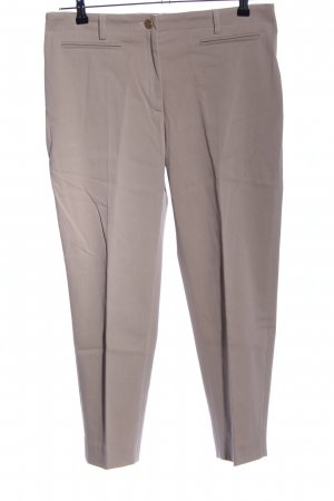 Escada Bundfaltenhose braun Business-Look