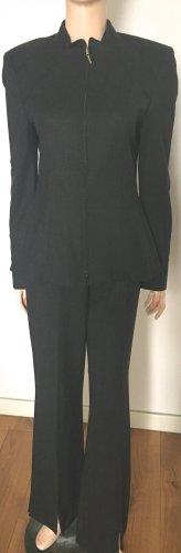 Escada Costume business gris anthracite laine vierge