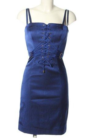 Escada Sukienka gorsetowa niebieski Elegancki