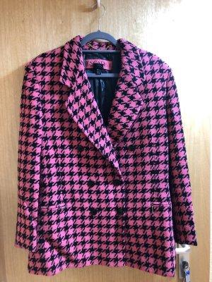 Escada Margaretha Ley Blazer Tweed rosa-negro