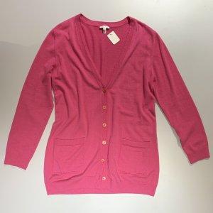 Escada Cardigan in maglia rosa Cachemire