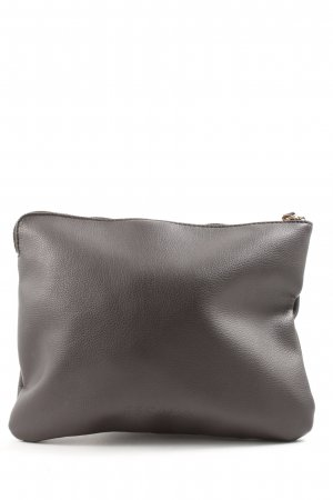 Escada Clutch braun Motivdruck Casual-Look