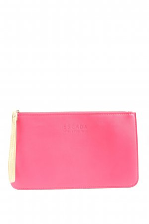 Escada Clutch pink-blassgelb Casual-Look