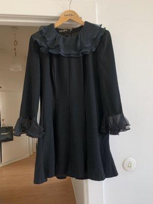 Escada Cocktailkleid schwarz NP 569 € - Kleid Gr. 40 / 42 mit Tüll