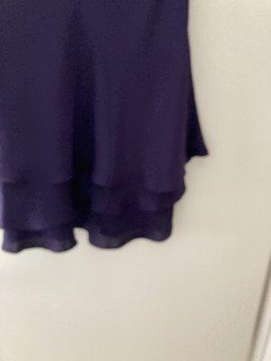 Escada Couture Zijden rok donkerpaars