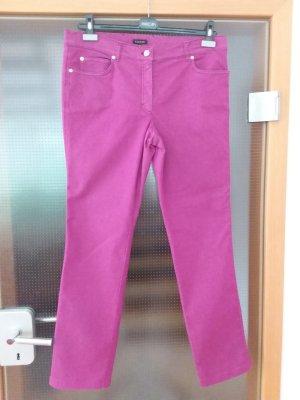 Escada Pantalone cinque tasche rosa antico-viola Cotone