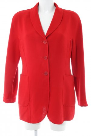 Escada Elements Long-Blazer rot Business-Look