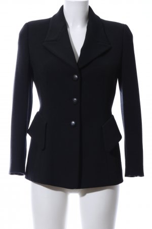 Escada Elements Woll-Blazer schwarz Business-Look