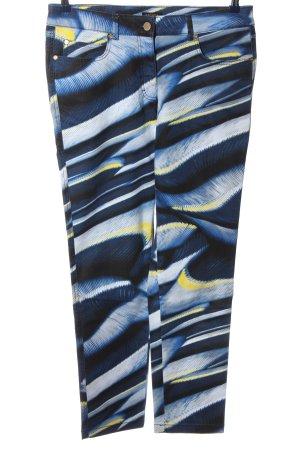 Escada Five-Pocket-Hose abstraktes Muster Casual-Look