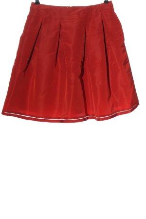 Escada Falda acampanada rojo elegante
