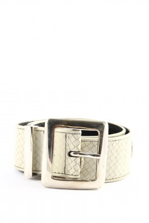 Escada Belt Buckle natural white casual look