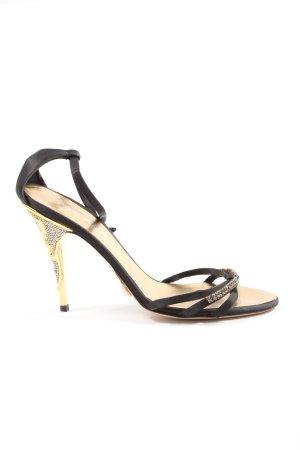 Escada High Heel Sandaletten schwarz Elegant